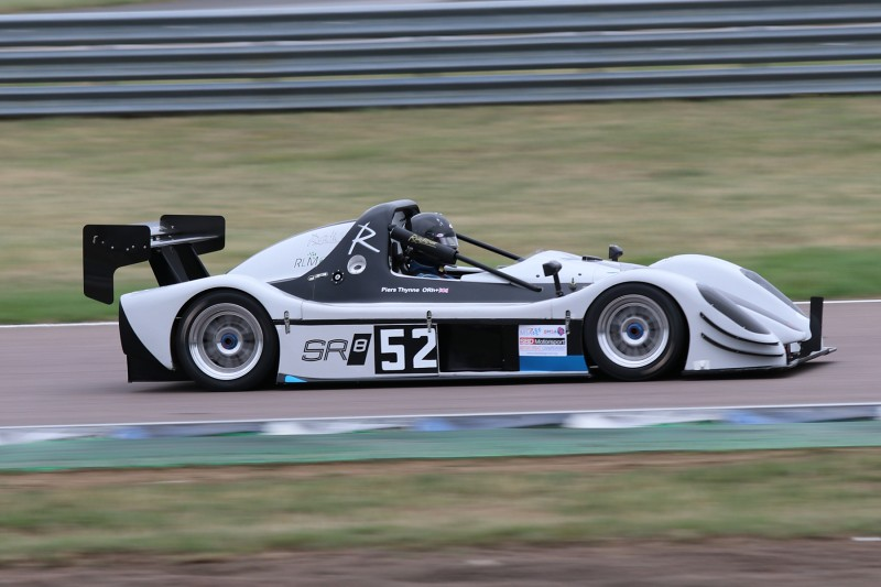 Piers Thynne's Radical SR8 at Rockingham (K Broughton)