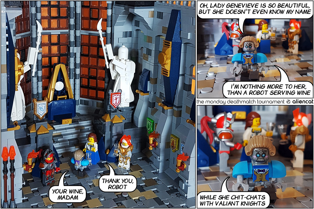 The Monday Deathmatch Tournament - Page 23 - Nexo Knights Intro