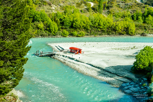 Shotover River, South Island, New Zealand