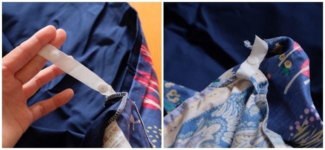 スナップ式 北欧風掛け布団カバー