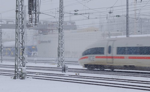 Munich - ICE and snow