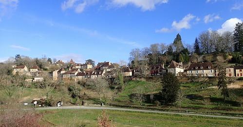 Limeuil, embouchure Vénère/Dordogne
