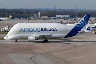F-GSTD Airbus A300-608ST Beluga Airbus Transport International