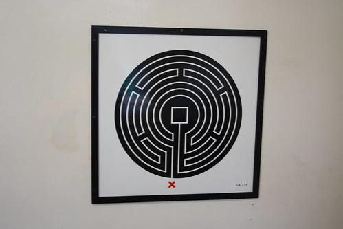London Underground Labyrinth 216 Totteridge and Whetstone close up