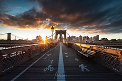 Brooklyn Bridge New York City USA