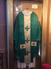 Chasuble portée par Jean Paul 2 à Strasbourg - Photo of Eschbach