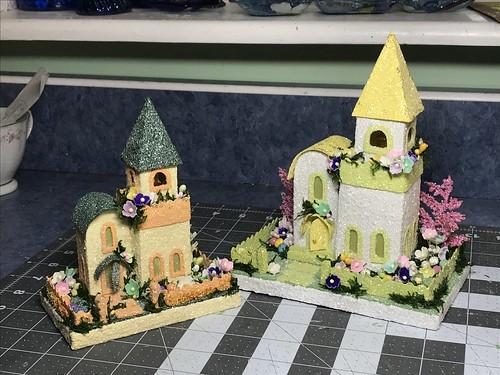 Easter Putz churches