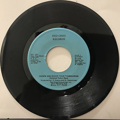 UNIVERSAL ROBOT BAND:DANCE AND SHAKE YOUR TAMBOURINE(RECORD SIDE-A)