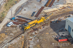 LMIX 505   Loram RailVac   CN Memphis Sub