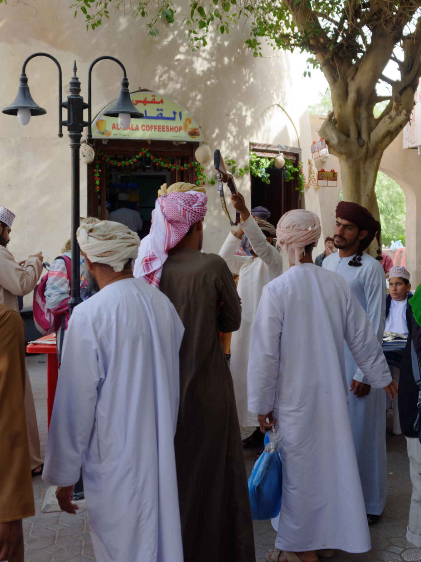 Buying and Selling Guns, Nizwa Souq, Oman