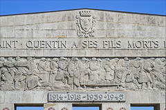 Le Monument aux Morts de Saint-Quentin (France)