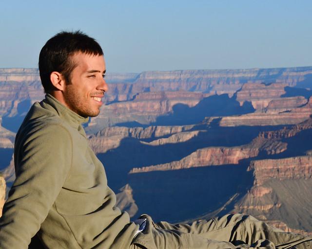 Diario de un Mentiroso en el Gran Cañón del Colorado al amanecer