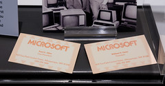 Microsoft business cards