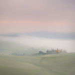 2nd  Print. League 3 Colour - Mist At The Farmhouse by Colin Mahoney