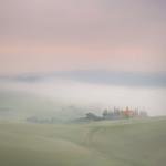 2nd  Print. League 3 Colour - Mist At The Farmhouse by Colin Mahoney