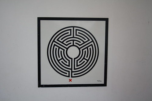 London Underground Labyrinth 44 South Kenton close up