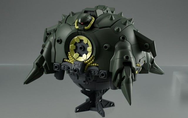 MOBILE SUIT ENSEMBLE EX11《機動戰士鋼彈 第08MS小隊》阿普薩拉斯II(アプサラスII)上色原型公開!