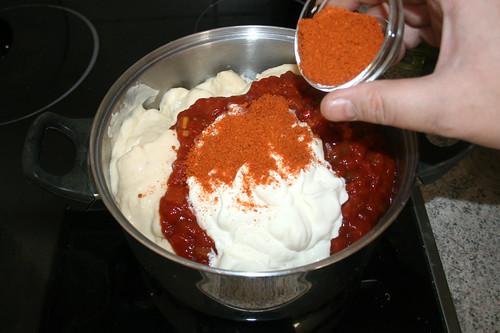 19 - Taco-Gewürzmischung einstreuen / Add Taco seasoning