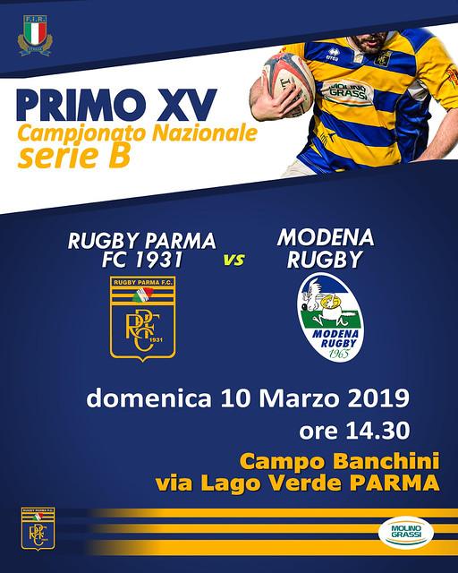 RPFC vs Modena 10.03.19