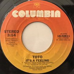 TOTO:ROSANNA(LABEL SIDE-B)