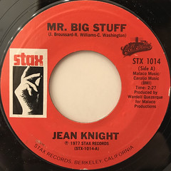 JEAN KNIGHT:MR. BIG STAFF(LABEL SIDE-A)