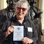 Sheila with CSEP award