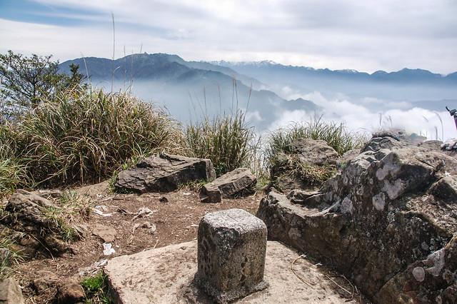 加里山一等三角點(Elev. 2220 m) 2