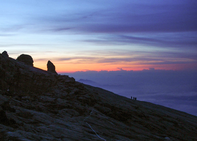 MT Kinabalu at Dawn, 2004, Sony DSC-P100