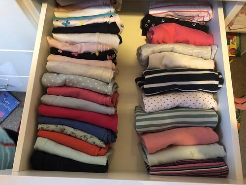 Marie Kondo drawer