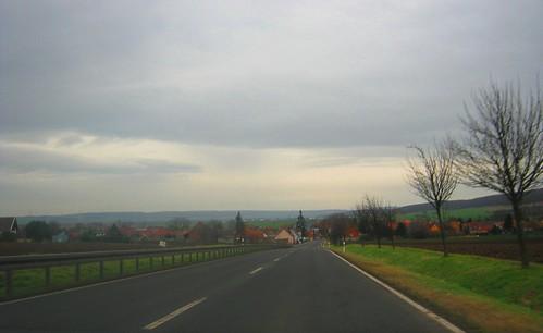 Auf nach Seehausen !!! Blick vom KDL1 des MSR (Motschützenregiments) 16 nach Seehausen