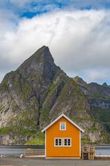 Yellow hut