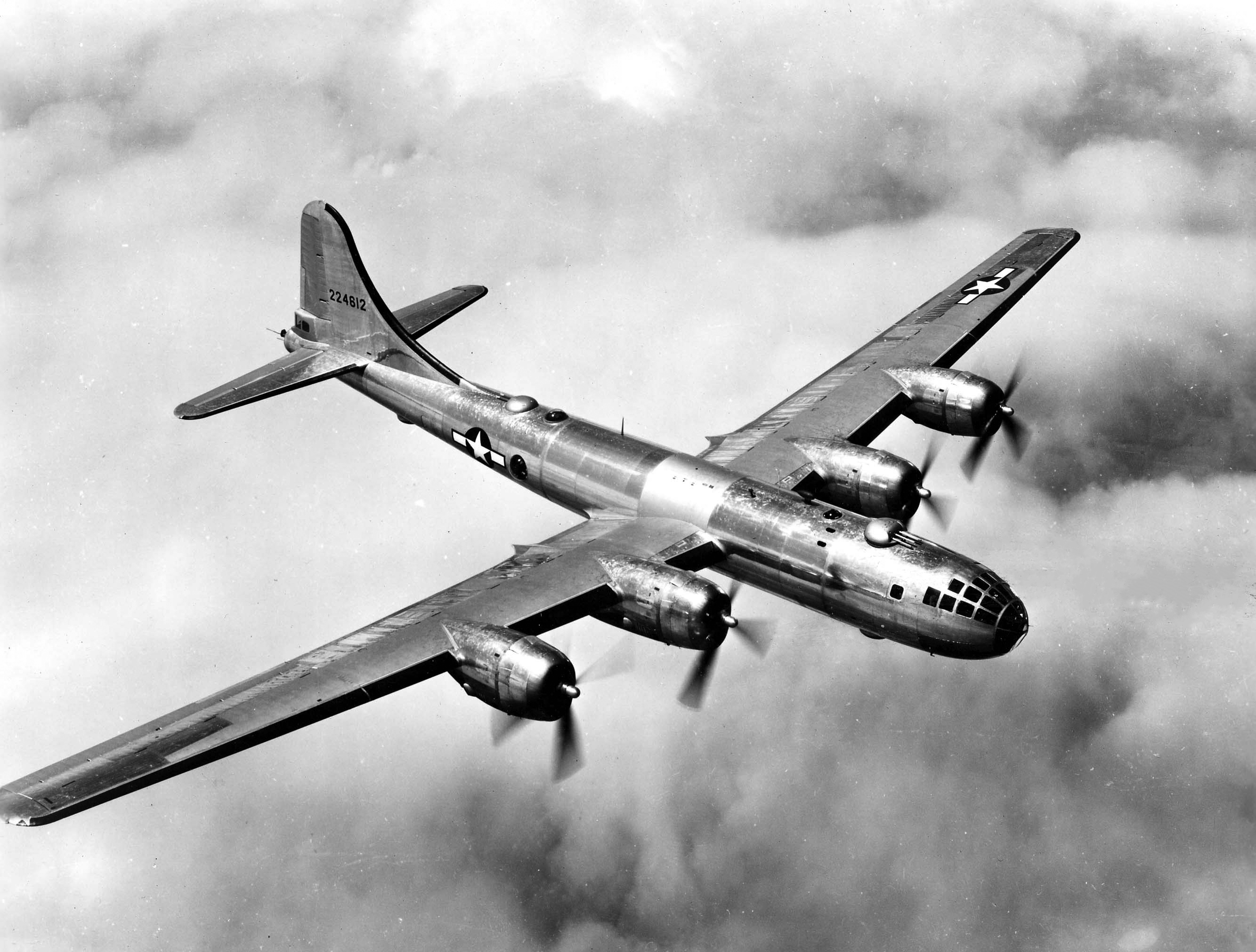 Boeing B-29 Superfortress in flight