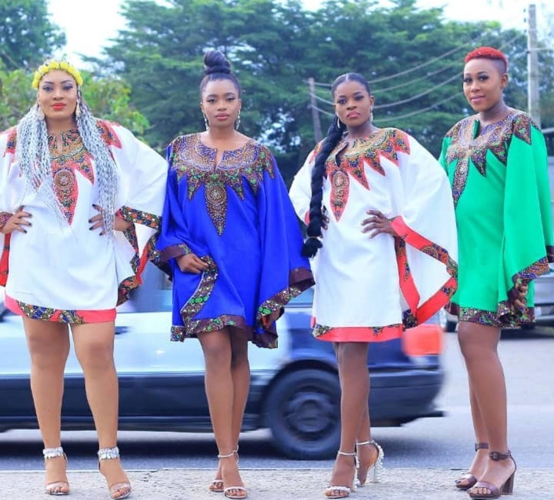 NEWEST 2020 ANKARA PATCH STYLES-BEAUTIFUL AFRICA FABRICS 3