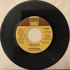STEVIE WONDER:SUPERSTITION(RECORD SIDE-A)