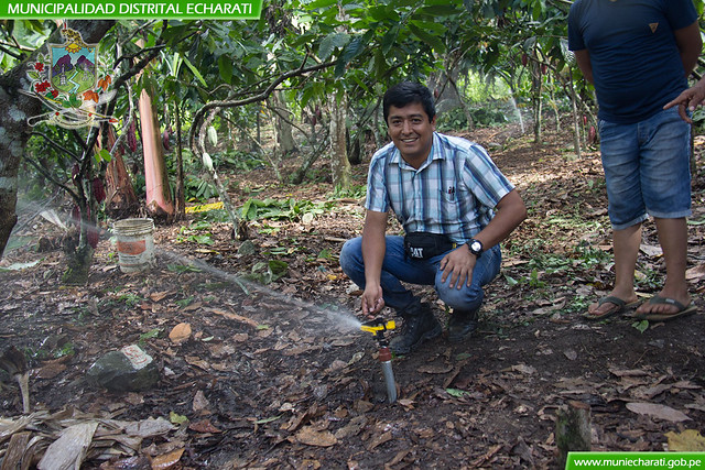 Reinicio del proyecto riego presurizado en los sectores de Cocabambilla, Pan de Azucar, Pampa Concepción y Sajiruyoq