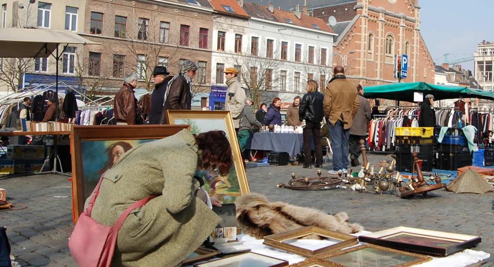 Zondag in Brussel: kunst en kitsch op het Vossenplein | Mooistestedentrips.nl