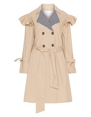 vestes-manteaux-lost-ink-trench-coat-a-motif-vichy-beige_A49510_F0100