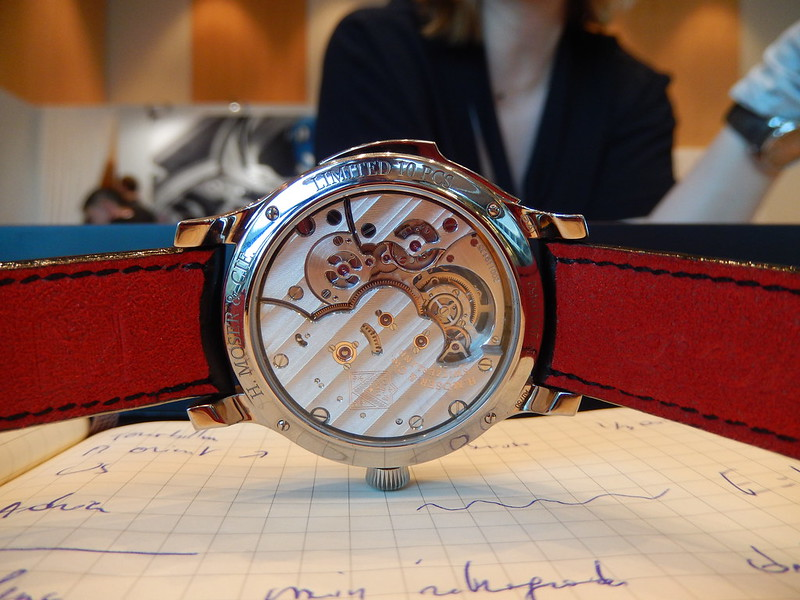 moser - Baselworld 2019 : reportage H.Moser & Cie 33594410198_643e31c3fc_c