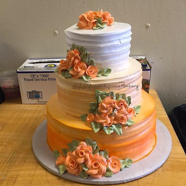 Cake by La Guadalupana Bakery