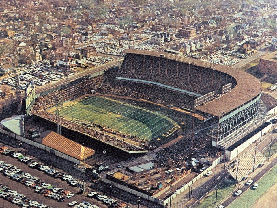 Kansas City Municipal Stadium, circa 1963-1964