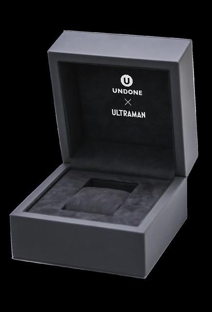 "UNDONE x ULTRAMAN《超人力霸王》聯名錶款""Color Timer""全球限量登場!"