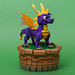 "Spyro (from ""Spyro the Dragon"") by SteppedOnABrick"