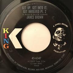 JAMES BROWN:GET UP, GET INTO IT, GET INVOLVED(LABEL SIDE-B)
