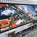 In-situ - Sogo Cvision Koi Bumper Animation for 76m HD Video Wall - animated HD screens illustrated by Rod Hunt