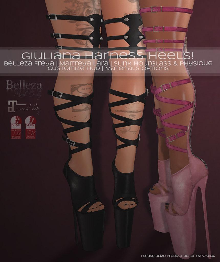 ? Giuliana harness Heels! ?