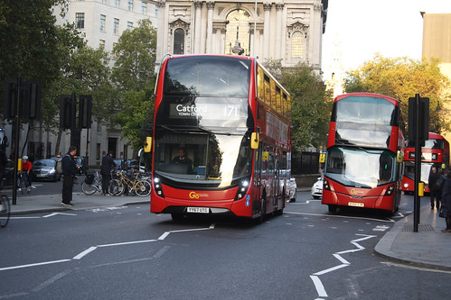 Go-Ahead London EH207 YY67UTG