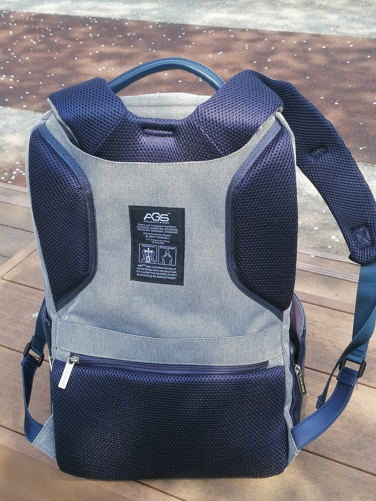 《FX Creations》WEA-17吋AGS回彈減壓電腦背包 (7)