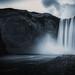 Freeze, Skogafoss, Iceland by S.A.W. Pixels