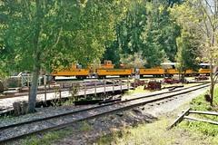 USA, la Californie, matériel dans le parc Roaring Camp Railroads