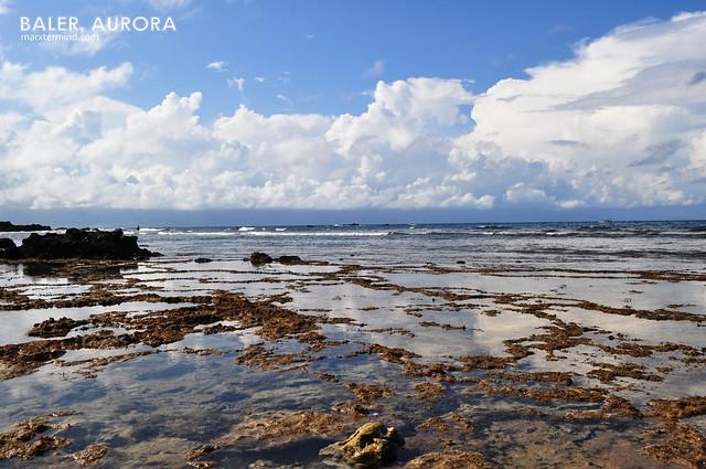 Digisit Beach in Baler, Aurora